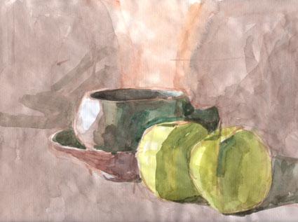 Pommes tasse