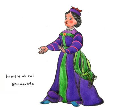Katika maquette mère du Roi