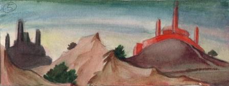 Fresque du ch�teau rouge