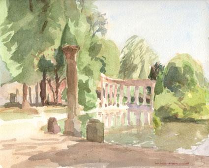 Lac du Parc Monceau