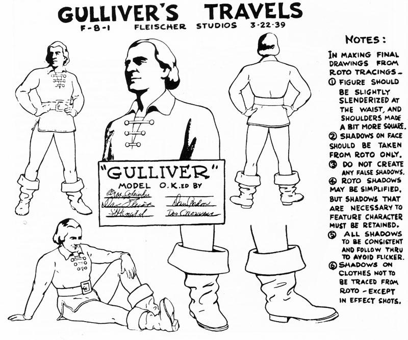 Tags dessins animés max fleischer gulliver's travels les