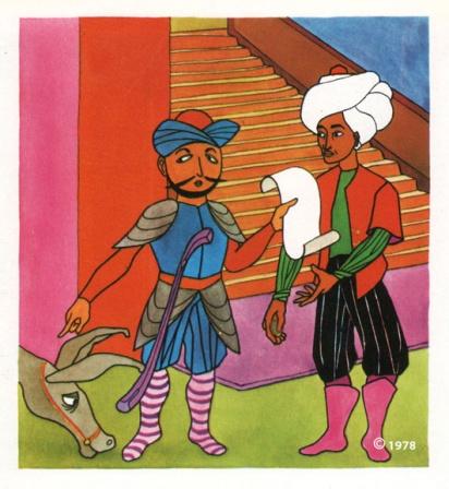 Djoha illustration 8