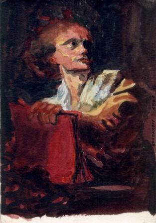Fragonard - Portrait