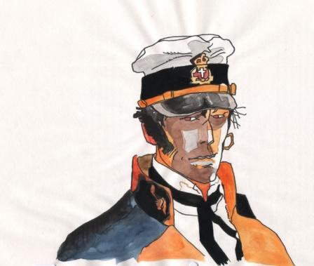 Corto Maltaise portrait